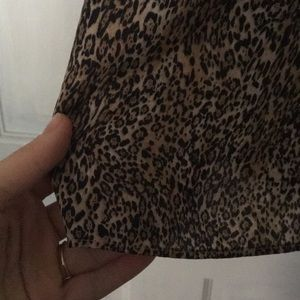Alice + Olivia Dresses - Alice and Olivia leopard print Fierra dress